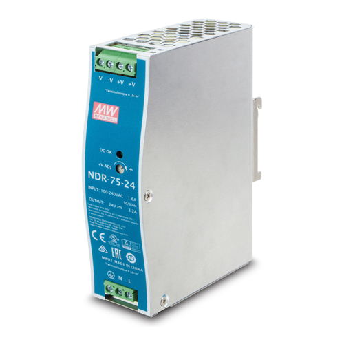 PLANET TECHNOLOGY 75W 24V DC Single Output Industrial DIN-rail - 1.jpg