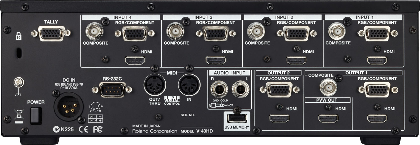 ROLAND V-40HD - 4-Channel Multi-Format Video Switcher - 3.jpg