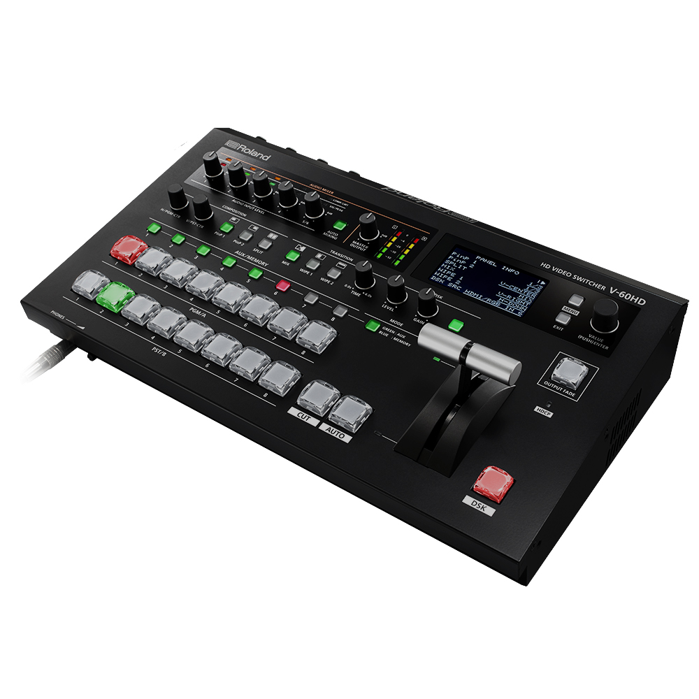 ROLAND V-60HD - 6-Channel HD Video Switcher mit - 1.jpg