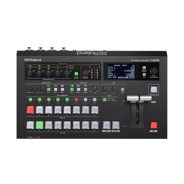 ROLAND V-60HD - 6-Channel HD Video Switcher mit - 2.jpg
