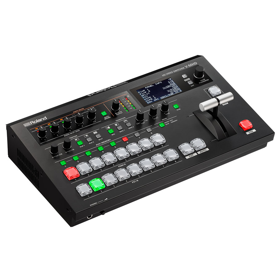 ROLAND V-60HD - 6-Channel HD Video Switcher mit - 6.jpg