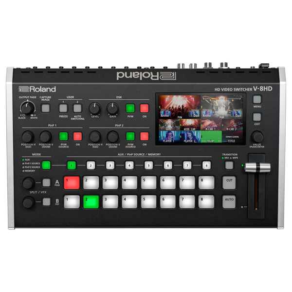 ROLAND V-8HD - 8-Channel HD Video Switcher - - 1.jpg